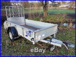 Ifor Williams Trailer Gd 84 Plant Farm Garden Mower Quad Car Van Mower Machine