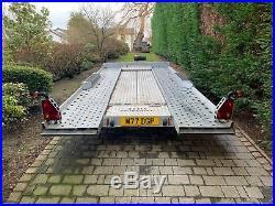 I for Williams CT177 Car Trailer / Transporter, lots of extras, tilt, winch