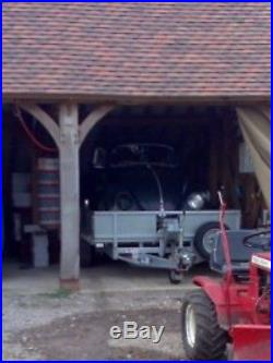 Ifor Williams 16ft Trailer, Ramps And Winch, Drop Sides