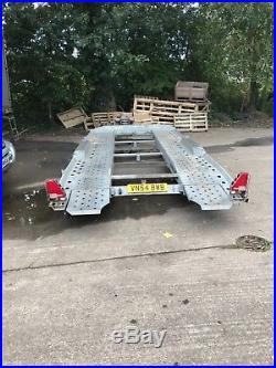 Ifor Williams 3500kg recovery trailer