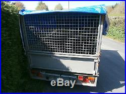 Ifor Williams 8x5 Trailer With Cover