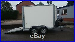 Ifor Williams BV85G Box Trailer with Ramp / Barn Doors