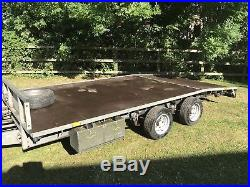 Ifor Williams Beavertail Trailer Lm146 3.5ton Car Transporter New Floor & Tyres