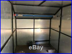 Ifor Williams Box Braked 15ft Trailer with built in winch