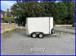 Ifor Williams Box Trailer 10x59x6 Dual Axle Excellent Condition