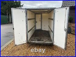 Ifor Williams Box Trailer 2700kg Gross 9ft Twin Wheel Barn Doors And Front Door