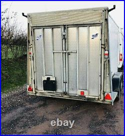 Ifor Williams Box Trailer 3500kg Bv106 Combination Doors And Ramp LED Lights