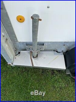 Ifor Williams Box Trailer BV106g 7ft Headroom Ivor Locks Original keys NO VAT