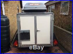 Ifor Williams Box Trailer BV64 Unbraked Single Axle