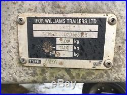 Ifor Williams Box Trailer BV84