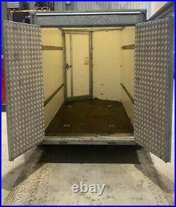 Ifor Williams Box Trailer BV85g Excellent Condition ramps/door 2700KG