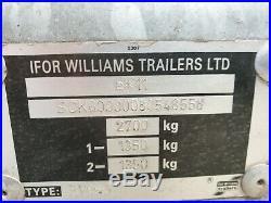 Ifor Williams Box Trailer BV 85G