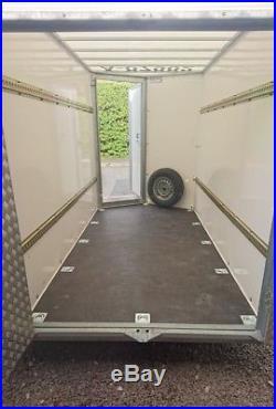 Ifor Williams Box Van Trailer BV105G 6ft Internal Height Black No Vat