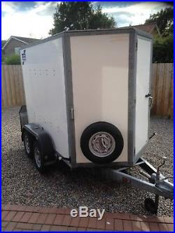Ifor Williams Box motorcycle trailer