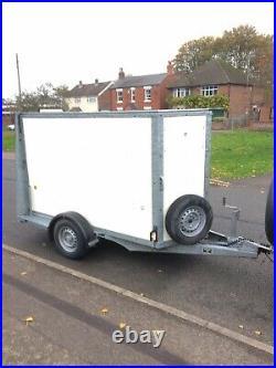 Ifor Williams Bv84 Box Trailer Ramp Door Excellent Condition No Vat