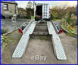 Ifor Williams CT136HD Twin Axle Car Transporter trailer 2600