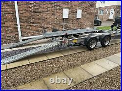 Ifor Williams CT136HD (heavy Duty) Twin Axel Car Trailer Transporter 2.6t