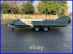 Ifor Williams CT166 Car transporter trailer 3500 3.5 ton drop side tilt bed 16ft