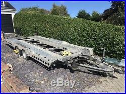 Ifor Williams CT177 Tilt Bed Car Transport Trailer Manual Winch. NO VAT