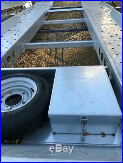 Ifor Williams CT177 Tilt Bed Car Transporter Trailer