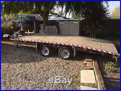 Ifor Williams Car Transporter Trailer