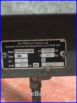 Ifor Williams Car Transporter Trailer CT136HD