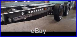 Ifor Williams Car Transporter Trailer CT136 Twin Axle rally race track