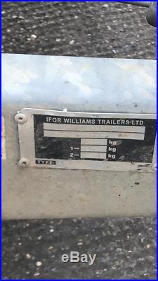 Ifor Williams Car transport trailer 3.5 tonne flatbed
