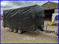 Ifor Williams Covered Car / Tractor / Machinery Transport Trailer