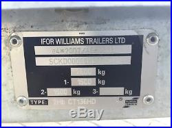 Ifor Williams Ct136hd Car Transporter Trailer 2017 Used