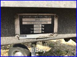 Ifor Williams Ct177 Car Transporter Trailer Flat Bed Tilt Bed 16.5ft Winch