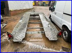 Ifor Williams Ct177 Tilt Bed Car Transporter Trailer 3500kg With Winch