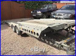 Ifor Williams Ct177 Tiltbed Car Van Transport Winch Ramps 2015 3500kg Trailer