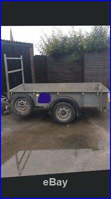 Ifor Williams GD84 Braked Single Axle Trailer 8 X 4 Ladder Tip Garden No Vat