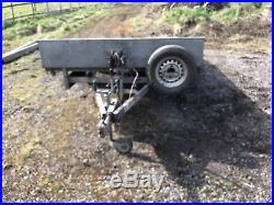 Ifor Williams LM14 66 Plant Trailer Car Transporter
