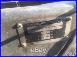 Ifor Williams LM166 car trailer 3.5 tun with ramps