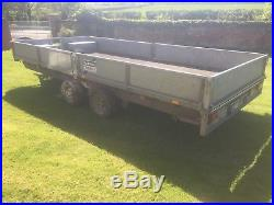Ifor Williams Pant / Car Trailer 3500kg, LM167 with 8' ramps