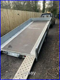 Ifor Williams Tb4621-302 2017 tilt Bed Trailer sides ramp Car Van Recovery Plant
