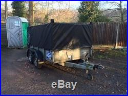 Ifor Williams Trailer GD85G all lights work builders/ride on mower/logs/carboots