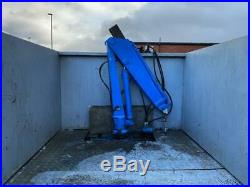 Ifor Williams Tri Axel 12ft High Sided Hiab Trailer With Electric Pump 2016