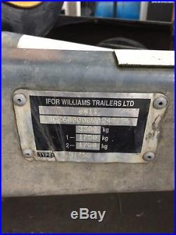 Ifor Williams Twin Axle Trailer