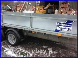 Ifor Williams trailer tri axel
