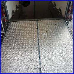 Ifor Williams twin axle box trailer BV106G, 3500kg price £3000.00 + vat