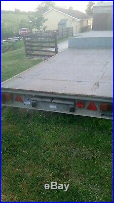 Ifor williams 14ft trailer