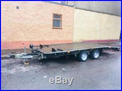 Ifor williams 16ft 3.5t beavertail recovery trailer brian james transporter car