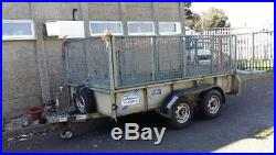 Ifor williams Trailer With Mesh Sides and Drop Down Rear Door
