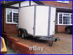Ifor williams box trailer