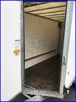 Ifor williams box trailer. Twin axle
