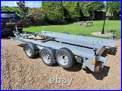 Ifor williams ct136hd car transport trailer
