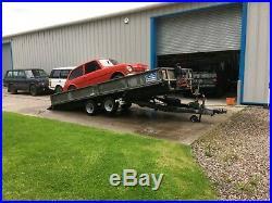 Ifor williams ct166 car transporter trailer no vat-can deliver
